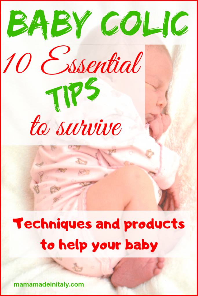 Baby Colic tips to survive