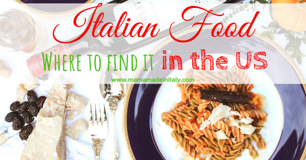 Italian food: where to find it in the US