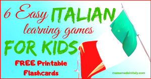 6 easy Italian learning games for kids
