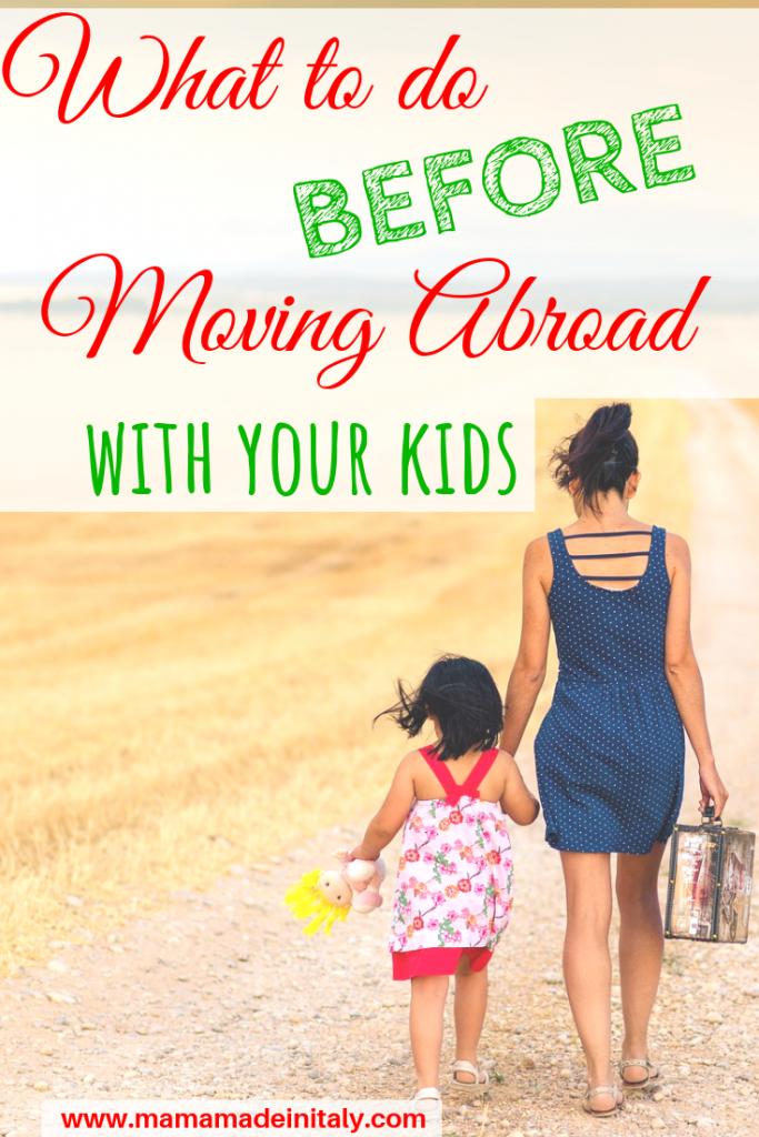 Moving abroad with your kids can be very stressful,but with the right to-do checklist at hand, it'll be much easier for you and your children
