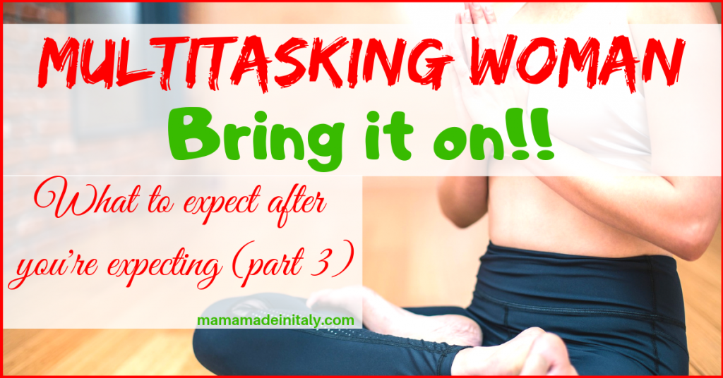 Multitasking woman: bring it on!