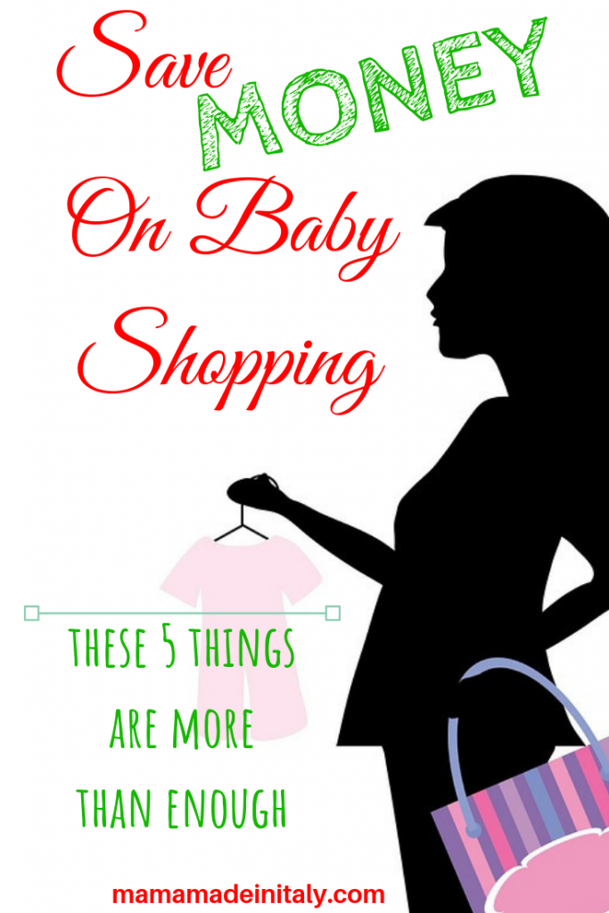 Save money on baby shopping - these 5 things are more than enough