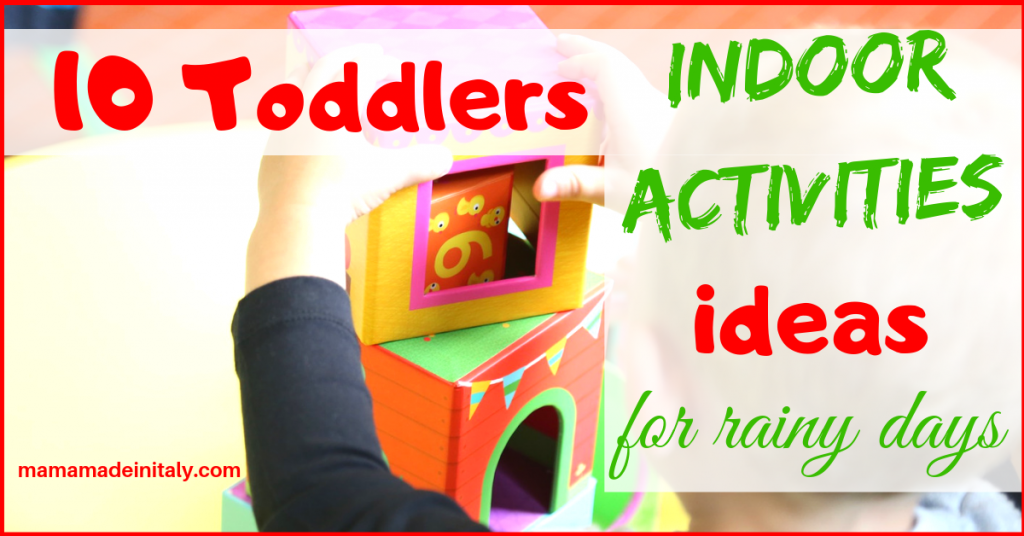 10 toddlers indoor activities ideas for rainy days