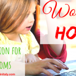 Work from home – a great option for new moms
