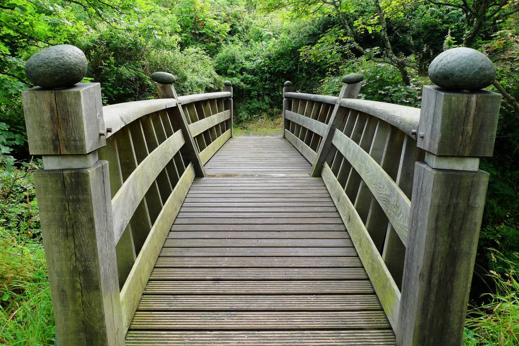 a bridge to the unknown in life