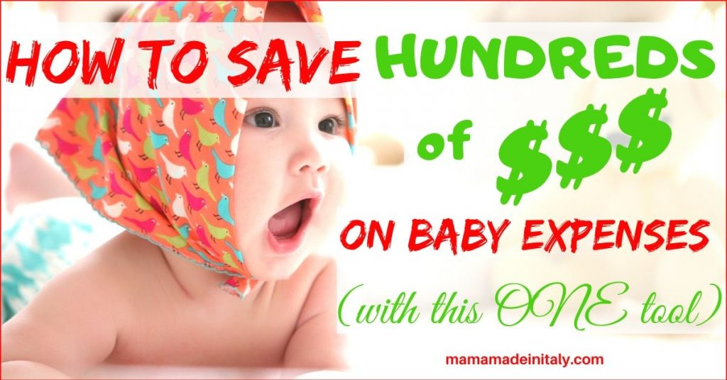 save on baby expenses