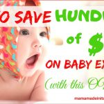 How to save hundreds of dollars on baby expenses (with this ONE tool)