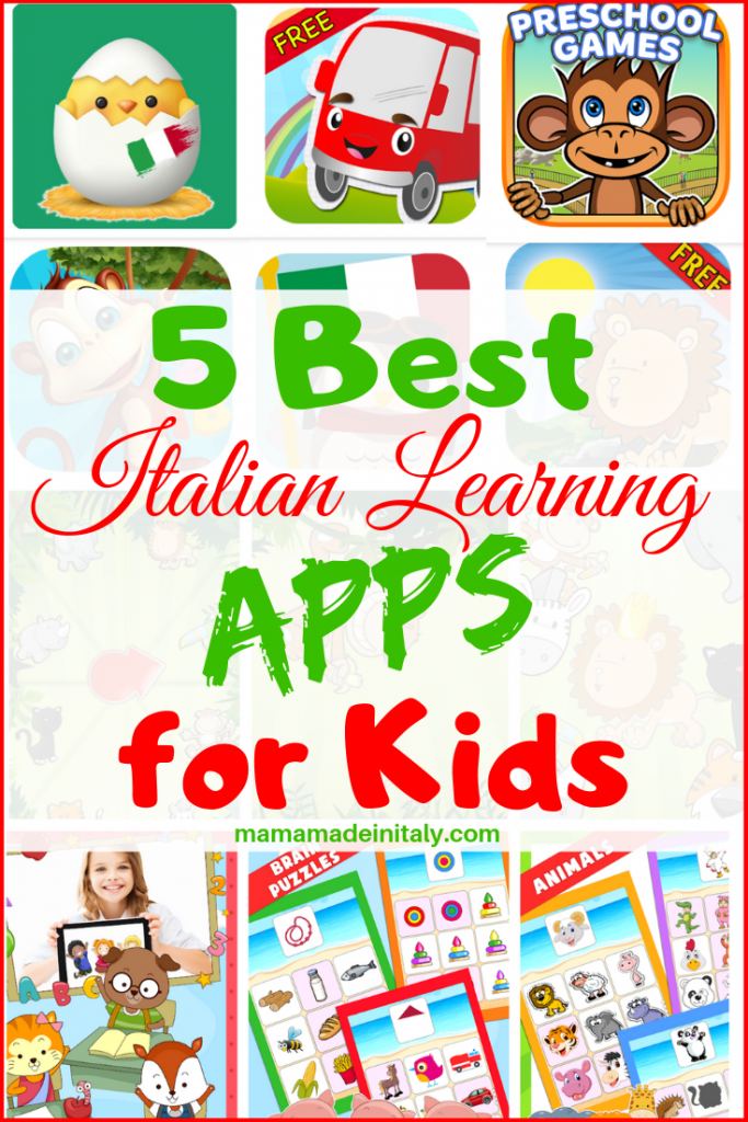 5 best Italian learning apps for kids
