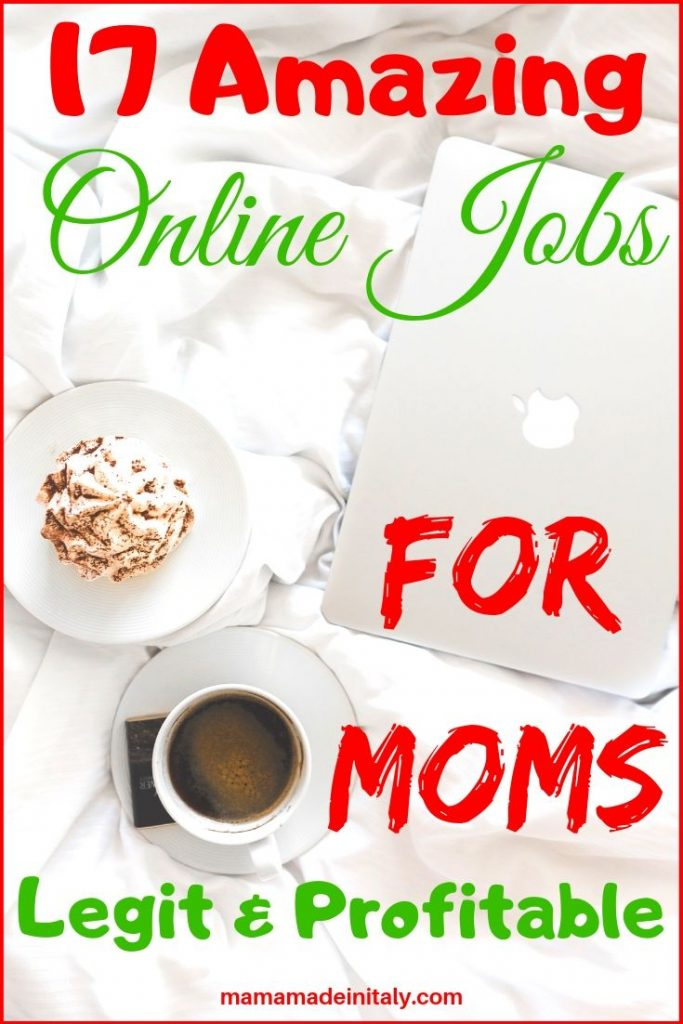 online jobs for moms