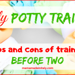 Early potty training - pros and cons of training before age 2