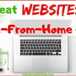 15 Great Websites for Work-From-Home Jobs (+1 for moms in the US)